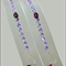 Purple sugar skull bracelet Swarovski bracelet Swarovski crystal bracelet