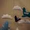 Felt plane mobile