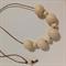 Sand #stella Wood Bead Necklace