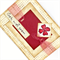 Get Well Soon Card - Red flower