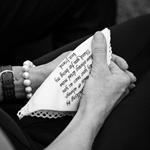 Wedding Handkerchief - Bridal Hanky - personalised bride gift