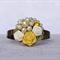 Vintage Bridesmaids Corsage Bracelet, Sunny Days Bridal Corsage, Vintage Corsage