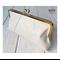 Bone leather clasp clutch
