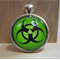 Bio-hazard (Green) Pendant