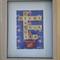 Framed Scrabble Tile Art