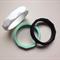 Silicone Geo Bangle - Black, Mint or White