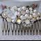 Sparkling Bridal Hair Comb, Wedding Hair Comb, Collage Hair Comb