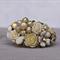 Vintage Bridal Bracelet, Wedding Corsage Bracelet, Bridal Corsage