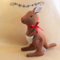 Kangaroo Soft Toy - Sydney