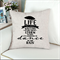 Dance in the Rain quote Cushion Cover Pillow Cover 45x45cm Natural Linen Blend
