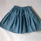 sizes 1-5, holly skirt, Cotton Denim