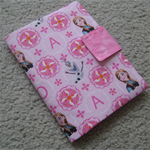 Notepad and Crayon Wallet - Frozen - Pink - Gift