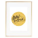 """Hello Sunshine"" Print"