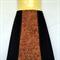 Retro Black Corduroy A Line Skirt - ladies sizes avail - brown bird print panel