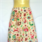 Retro Woodlands Animal A Line Skirt - ladies sizes avail - fox owl tree raccoon