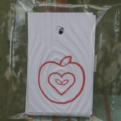 12 Apple Christmas Gift Tags Teacher Thank the Teacher Tags Christmas Tags