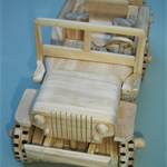 Willys Jeep hand made model