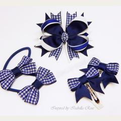 Bella 'Formal' School Bow Pack - Custom Made in school colors