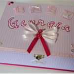 Baby Girl Personalised Keepsake Box - Pinks