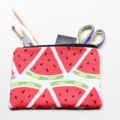 Watermelon Zipped Pouch or Pencil case