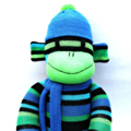 'Andy' the Sock Monkey - *ready to post*