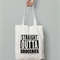 Groceries Tote Bag - Canvas Tote Bag - farmer market