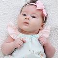 Pastel Mint & Peach Rosemilk Baby Play Suit