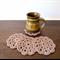 Set of 4 Retro Crochet Coasters