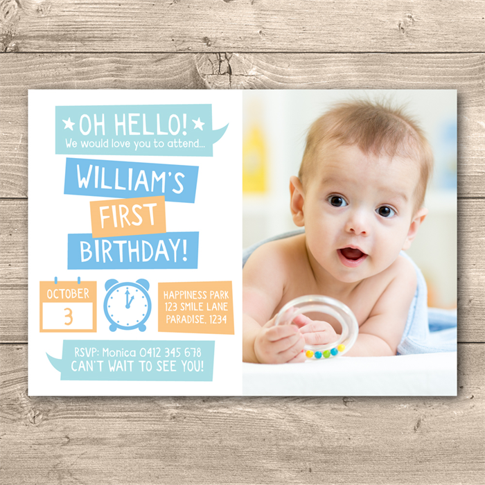 Personalised boys 1st birthday printable invitation digital file personalised boys 1st birthday printable invitation digital file filmwisefo Image collections