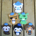Octonauts Finger Puppet Set