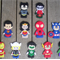 Superhero Finger Puppet (11 to choose from!)