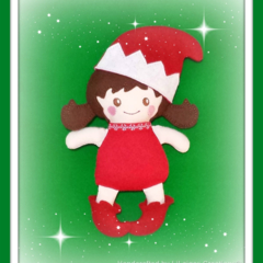 Christmas Doll - Quality Handmade from Quality Supplies