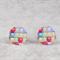 Colourful Balloon Stud Earrings - Pattern Play - light aluminum - Balloon stud