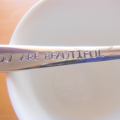 You are Beautiful,Hand Stamped Spoon,Mothers Day,Fathers Day,