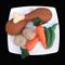 FELT FOOD CHICKEN DINNER DRUMSTICKS VEGGIES