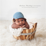 SALE Newborn Crochet Baseball Hat / Baby Boy / Photography Prop / Newsboy Cap