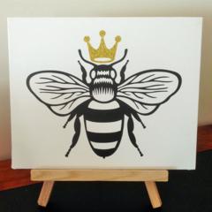Queen Bee Canvas