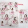 Ballerina Drawstring Bags - Set of 2