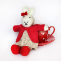Coralie - Hand Knitted Bunny Rabbit Toy