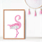 Flamingo ♥ A3 Print