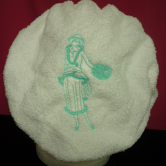 Ladies After Shower Towel Cap 