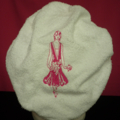Ladies After Shower Towel Cap WM7 Hot Pink