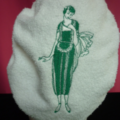 Ladies After Shower Towel Cap WM6-Jade