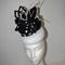 Pretty Woman..SALE   autumn winter black white monochrome headpiece races event