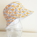 Boys summer hat in cool fox fabric