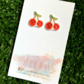 Buy 3 get 4th FREE - Cherry Earrings