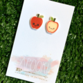 Buy 3 get 4th FREE - Apple Earrings
