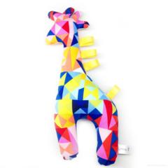FREE POSTAGE Geometric Giraffe Tag Toy Rattle