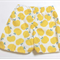 Cotton shorts - unisex shorts - yellow shorts - Berry Coot creations Shorts