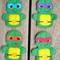 Teenage Mutant Ninja Turtles Finger Puppet Set